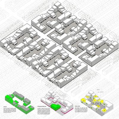 Residential Block by Nastaran Shishegar