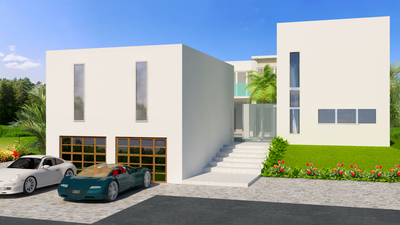 Post Modern Design Concepts-Single Family