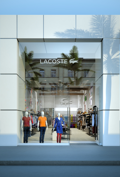 Lacoste Store Rodeo Drive, Los Angeles