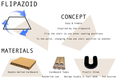 Cardboard Chair, Flipazoid