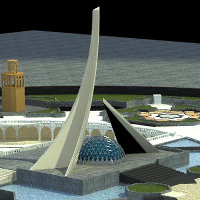 Tabbas Entrance Monument