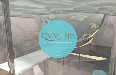 REVIVE SPA, the luxury water SPA & oxygen bar.