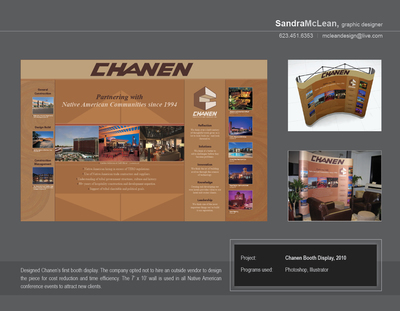 Chanen Construction Booth Display, 2010