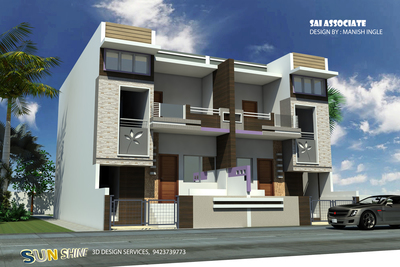 3d Home for Shashank Planners and creators Malkapur