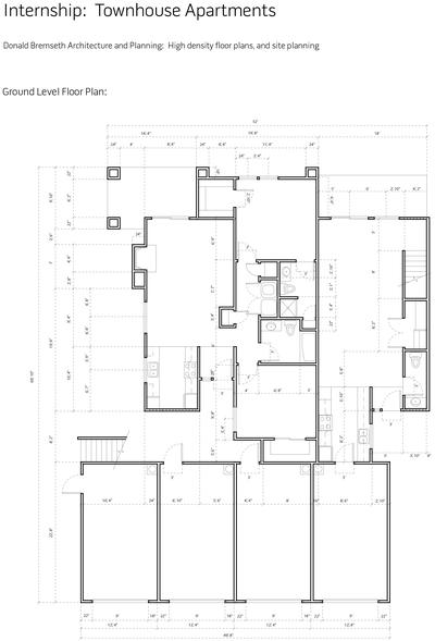 2013: Floor Plan Design