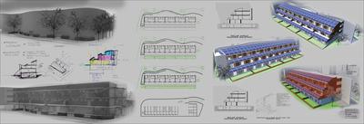 Fifteen zero energy condominium (ZNE)
