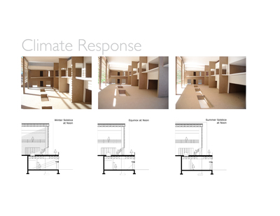 Theodore Roosevelt National Park Research Center: climatic building response