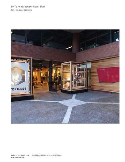 Levi's Headquarter's Retail Store, San Francisco, CA.