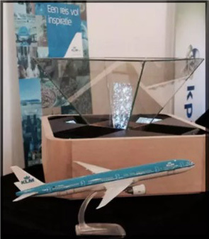 Mini Holo for KLM Air France