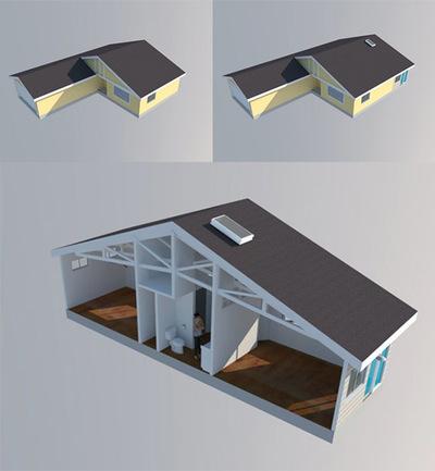 430 sq ft addition