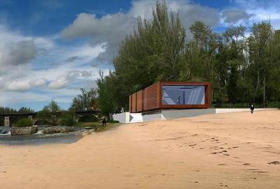 Pavilion for the Pisuerga River