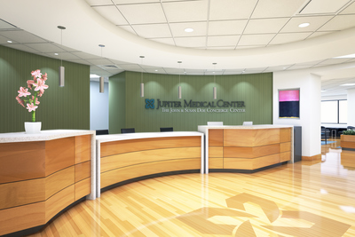 Jupiter Medical Center - Third Floor Concierge Concept