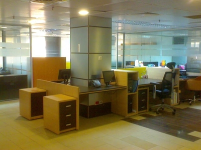 Office renovation for AFREN Oil, Lagos