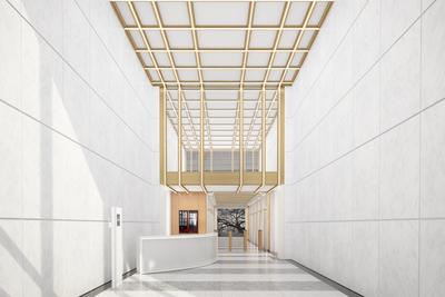 450 7th Avenue Lobby renovation