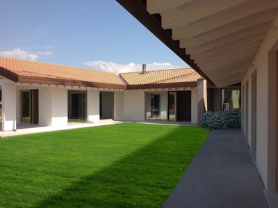 CLT single - family home in Treviso, Italy.