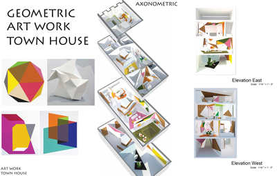 Residential Project 1 -Town house