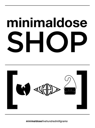 Minimaldose Shop Sign