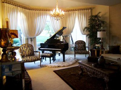 Living Room Design, Upland, CA