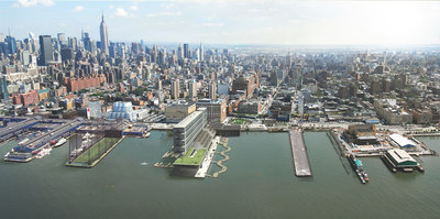 MINIhattan: A proposal for new density along Manhattans waterfront - and the extension of the highline.