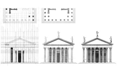 Palladian Plate XLVI Temple if Jupitor Stator