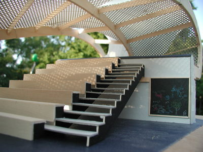 Outdoor Classroom, Concept Model
