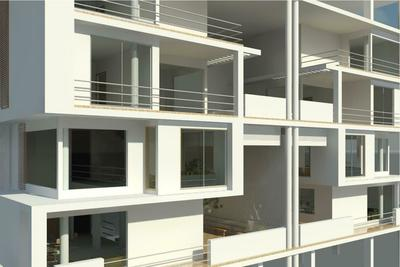 This high end residential apartment is proposed at Thane for Rituban Enterprises