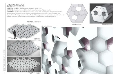 Digital Media: Hexagonal Space