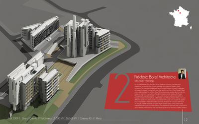Frédéric Borel Architecte - professional projects