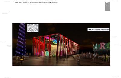 Coney Island Parachute Pavilion - Competition Entry