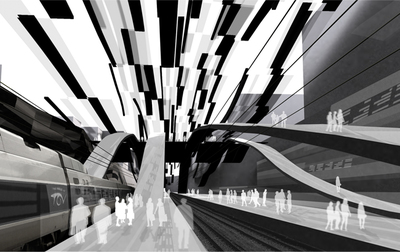 Transportation Hub - XXL - Multimodal Platform - International VELUX Award Competition, Light of Tomorrow, 2007