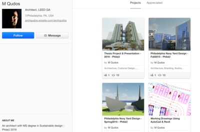 This is my portfolio on behance click on the link !