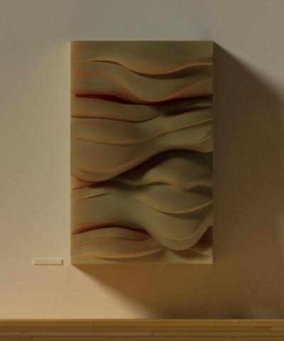 Sculptural Wall Panels