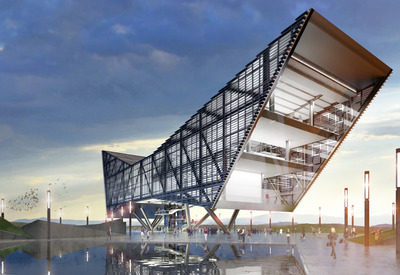 Tijuana MEX - USA Border Architectural Competition