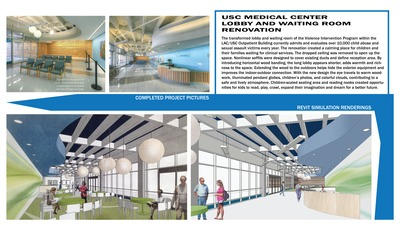 USC Medical Center Lobby and Waiting room Renovation