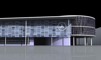 Mercedes-Benz Regional Representation Facility