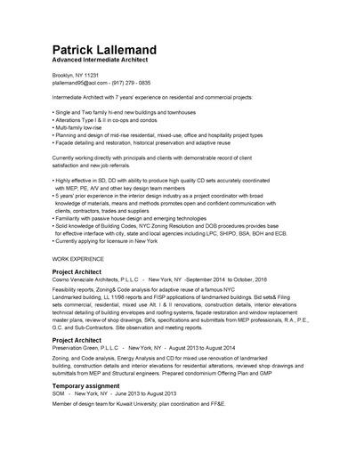 Patrick Lallemand: Resume(jpg)