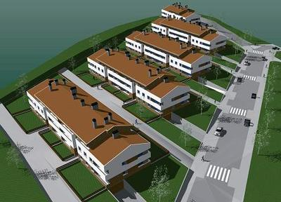 Social housing complex (70 apartments), facilities and Urbanization.