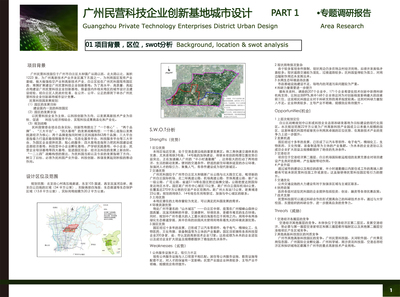 Guangzhou Private Technology Enterprises District Urban Design