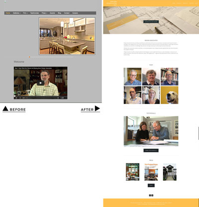 Redesigned Architecture Office Website