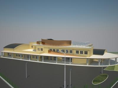 New school in S. Casciano Bagni, SIENA - ITALY