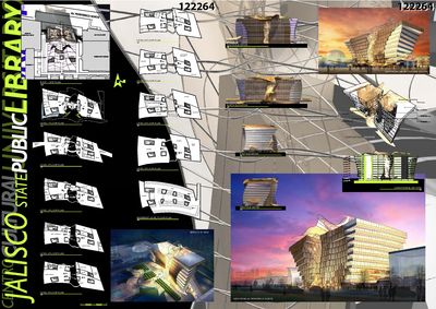 Jalisco State Central Library: Competition Project