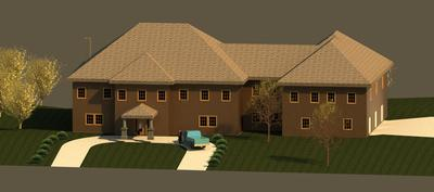 Render house view