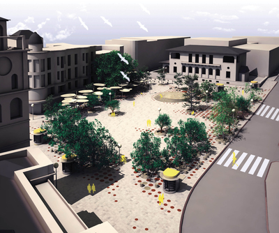Rennovation of Kozani's Central Square