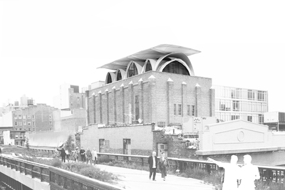 Deconstructed Vault House