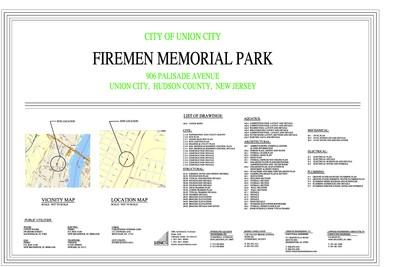 Firemen Memorial Park, Union City, NJ