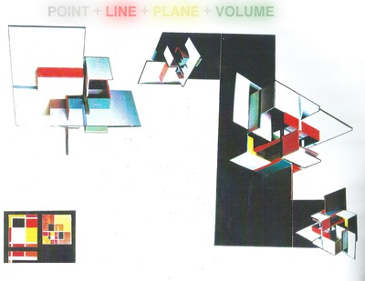 POINTS + LINES + PLANES + VOLUMES