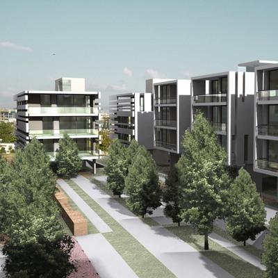 Housing at St Thomas - Marousi area in Athens, Greece, by Panos Nikolaidis _ Errica Protestou architecture