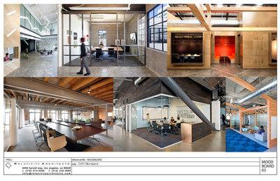 Corporate Headquarters Mood Board