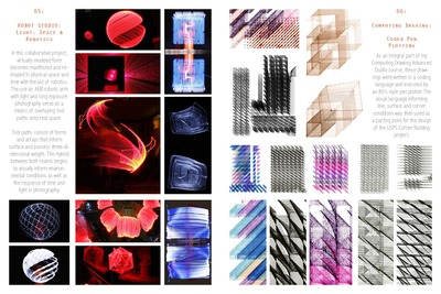 Robot Light Studio & Coded Pen Plotting Excersices
