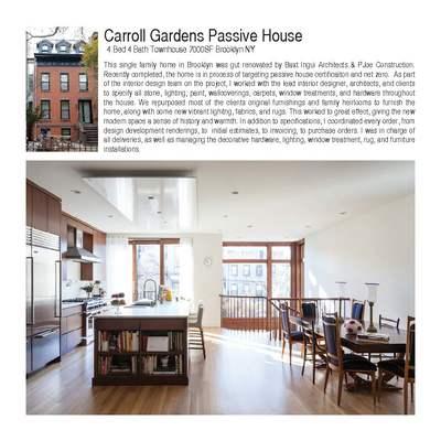 CARROLL GARDENS PASSIVE HOUSE
